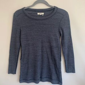 Madewell gray haft of sleeves tops